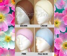 LADIES DIAMANTE TRIM BONNET BONE HIJAB UNDERSCARF ISLAM HAIR COVER CAP WITH TIES