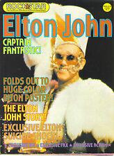 ELTON JOHN Rockstar poster magazine from 1975