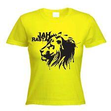 Jah Rasta T-Shirt-Reggae Lion Of Judah rastafariennes Bob Marley-Choix de Couleurs