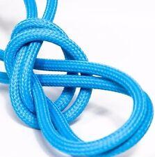 Premium Textilkabel - 5x0,75 - EU Produkt - Design Stoffkabel - Blautürkis