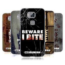 Official AMC The Walking Dead Typographie GEL souple Coque Pour Huawei Téléphones 2