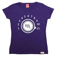 Max Volume Da Donna T-shirt BANDA AMPLIFICATORE STEREO Moda Divertente Regalo Di Compleanno