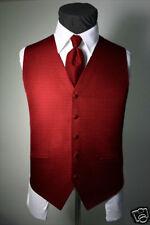 Brand New Luxury Venetian Pattern Tuxedo Vest & Necktie