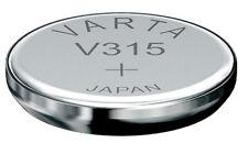 10x V315 Uhren-Batt. Knopfzellen  SR67SW SR716SW  Silberoxid Hersteller VARTA