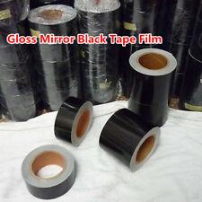 High Gloss Black Vinyl Tape , Automotive Grade Wrap Tape Film self-adhesive PVC