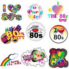 Me encanta el 80s Vintage 80s flash back Hierro en T-Shirt transferencia de calor 6021742 ®