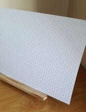 A4 White  Embossed Polka Dot Craft Card Scrapbooking Cardstock