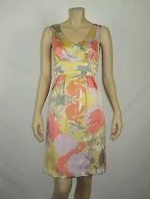 Fleurette by Fleur Wood Ladies Sorbet Blues Dress size 10 Multi Colour Print