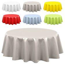Tischdecke abwischbar, Wachstuchtischdecke Gartentischdecke, Uni Farben