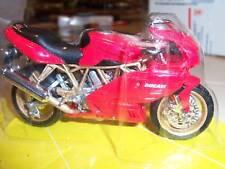 1/18 DUCATI RED SPORT BIKE motorcycle NEW L
