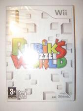 jeu nintendo wii rubik's puzzle world neuf