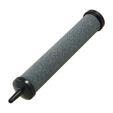 Gris Noir Cylindre Forme Poisson Aquarium Bulle D'air Pierres 13.5cm Longueur