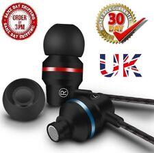 Bass Handfree Stereo Earphone Headset Headphone Sport Ear Mic Earbuds Super 3.5m