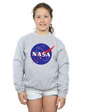 NASA Bambine e ragazze Classic Insignia Logo Felpa