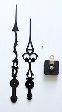 mécanisme horloge pendule quartz aiguilles de style géantes 31/37cm- canon long