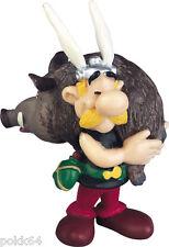 Astérix et Obélix figurine de collection Astérix portant un Sanglier 6 cm 605456