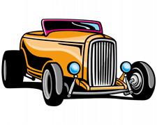 Hotrod Aufkleber Sticker Autoaufkleber Scheibenaufkleber