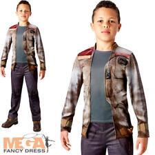 Deluxe Finn Boys Fancy Dress Disney Star Wars Force Awakens Teens Childs Costume