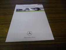 Verkaufstaschenbuch Mercedes M-Klasse W 163 08/1999