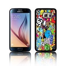 TPU Silicone Sticker Bomb Case per Galaxy S3, S4 S5, S6/EDGE S7/EDGE S8 S8 Plus