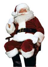 Adult Deluxe Crimson Imperial Santa Suit