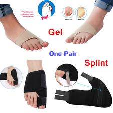 Foot Big Toe Hallux Protector Corrector Strap Support Valgus Straightener Brace