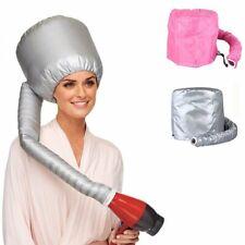 Portable Soft Hair Drying Salon Cap Bonnet Hood Hat Blow Dryer Attachment UK New