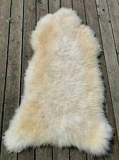 Echtes Premium Lammfell Schaffell aus Ökologischer Gerbung XXXL 140-150 cm