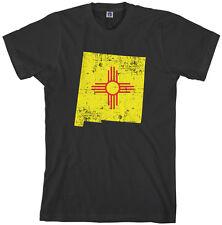 Threadrock Men's New Mexico State Flag T-Shirt Albuquerque