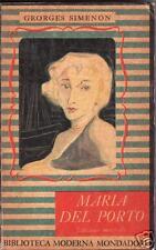 GEORGES SIMENON-MARIA DEL PORTO-BIBLIOTECA MODERNA MONDADORI 83-1949