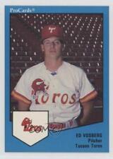 1989 ProCards Minor League #192 Ed Vosberg Tucson Toros Rookie Baseball Card