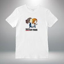 Greys Anatomy You're my Person Quote T-shirt Vest Tank Top Men Women Unisex