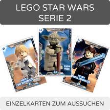 LEGO Star Wars Serie 2 Trading Cards - Einzelkarten 1-202 zum aussuchen