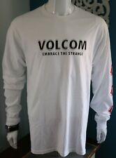 Volcom Mens Graphic Tee White 100% Cotton T-Shirt Size S M L