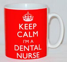 Keep Calm I'm A Dental Nurse Mug Can Personalise Great Dentist Assistant Gift