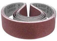 10 x Klingspor Schleifband LS307X | 50 x 1020 mm | Körnung nach Wahl