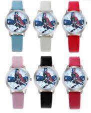 Slim Kids Spiderman Wrist Watch Analogue Leather Strap Wristwatch Spider Man UK