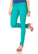 Laura Scott Mujer leggins de Jeans Pantalones largos Jeggings / licras Elástico