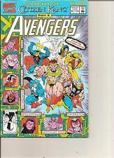 AVENGERS COMIC - CITIZEN KANG PART 4 - 1992 ISSUE 21 MARVEL