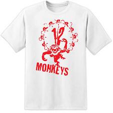ARMY OF THE 12 MONKEYS MOVIE T SHIRT / ALIENS PREDATOR MARVEL DC COMICS