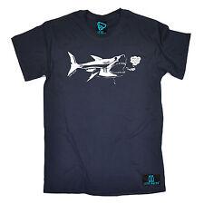 Dove sono i pesci grossi acque aperte da Uomo T-shirt Tee Regalo Di Compleanno immersioni subacquee