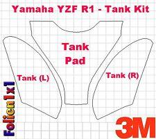 Lackschutzfolie 3M™ VS 7510E transparent Tank Kit für Yamaha YZF R1 ab BJ 2009