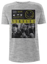 Nirvana - Bleach Tape Photo (NEW MENS T-SHIRT )