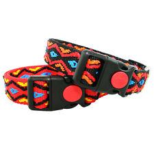 Hundehalsband im Indianer Look Hunde Halsband Nylonhalsband Halsbänder Halsung