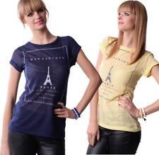 Shirt Top Bluse mit Motiv Gr. XS S M L, 0015