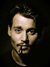 A3/A4 SIZE - JOHNNY DEPP - Actor / Musician POSTER PRINT ART #2
