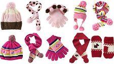 NWT Gymboree Girls Winter Accessories Hat, Scarf, Gloves 2 3 4 5 6 7 8 9 10 OSFA