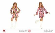 Groovy Girl Minikleid 2-tlg. Kleid Kostüm Fasching Karneval Hippie Retro NEU TOP