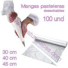 Mangas Pasteleras desechables rollo 100 und muffins cupcakes magdalenas tartas