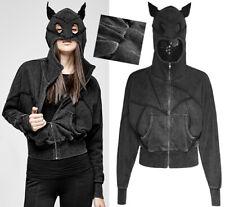 Hoodie sweat veste gothique punk lolita capuche oreilles chat catwoman Punkrave
